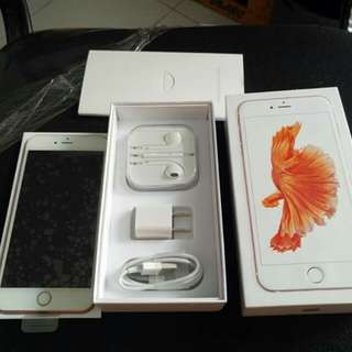 Rush iPhone 6s+ 16gb, 64gb Rosegold/Gold/Spacegrey Factory Unlock Openline