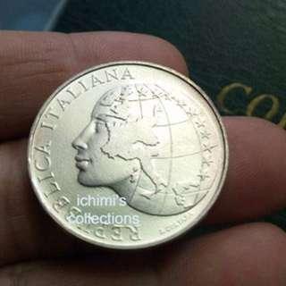 500 Lire, Italy Silver Commemorative Coin