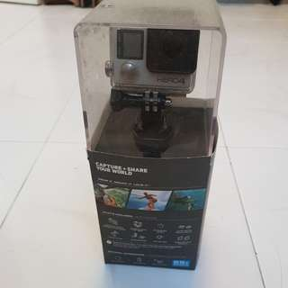 GoPro Hero 4 Silver with screen