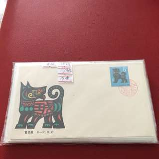 China stamp ist lunar Series FDC( 20 FDC —short AB Monkey & AB Rooster )