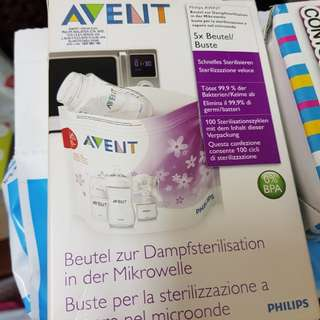 Avent Sterilizer Bag