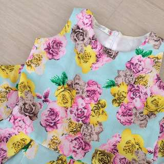 Grizzly Floral Dress (for kids)