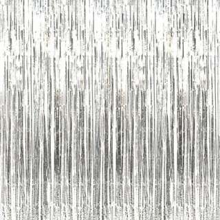 Tinsel curtain backdrop