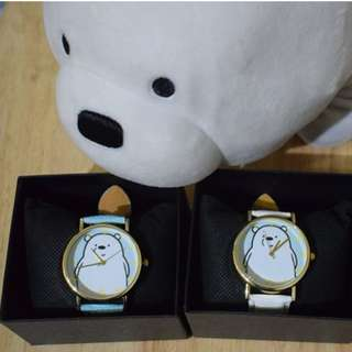 Ice Bear inspired watches