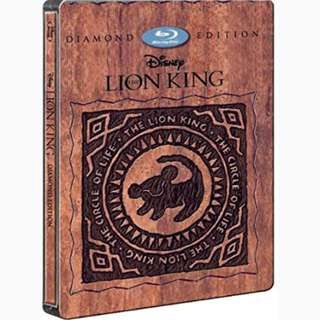 The Lion King (3D Blu Ray + 2D Blu Ray ) Steelbook