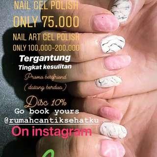 Nail gel polish / nail art gel polish