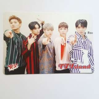 FTisland Infinite Yescard