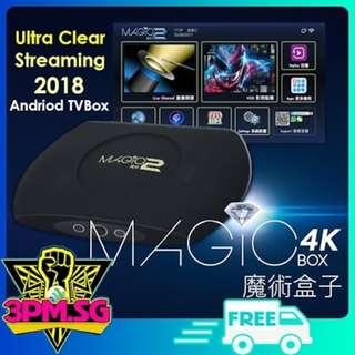 Magic Box 2 4K Andriod TV Box