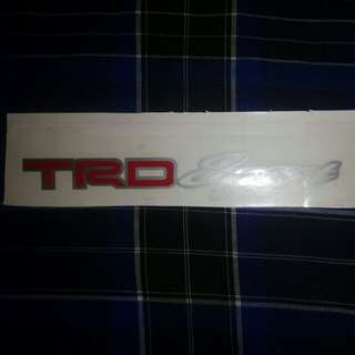 Sticker Trd