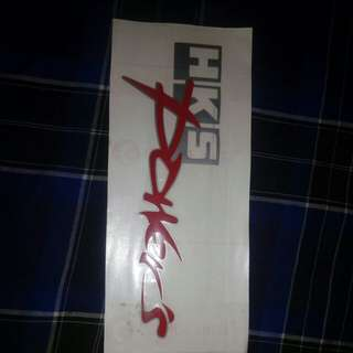 Car Sticker HKS