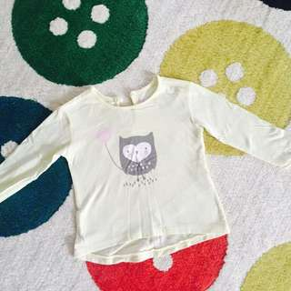 Cotton on kids long sleeves shirt
