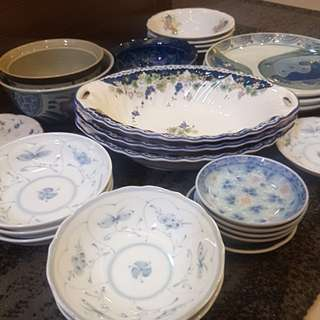 Assorted Japanese Made Porcelain Dinnerware
