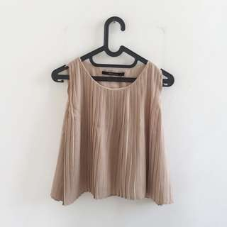 Shopatvelvet pleated top