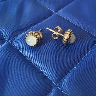 Authentic Pandora Aquamarine earrings