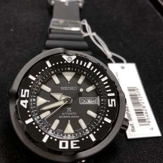 Seiko Prospex Tuna SRPA81J1 SRPA81 all black made in Japan