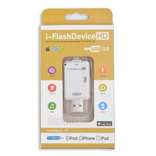USB 3.0 I-Flash Drive TF Card reader 快速讀卡器  iPhone 8/X IOS11