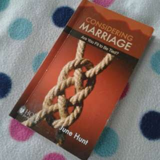 Considering Marriage -Are you fit to be Tied?
