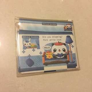 📌文具 · 熊貓信紙 連信封📌