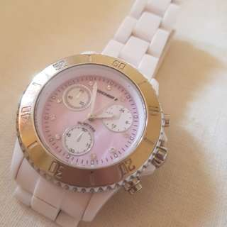 Skechers  watch for ladies white