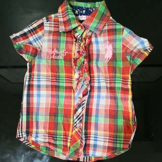 Polo Girls Shirt