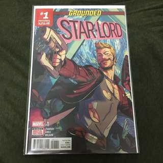Starlord 1 Marvel Comics Book Avengers Movie Guardians Of The Galaxy