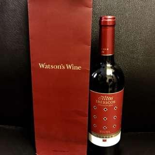 Torres2014 red wine連紅酒紙袋