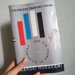 haruki murakami - colourless