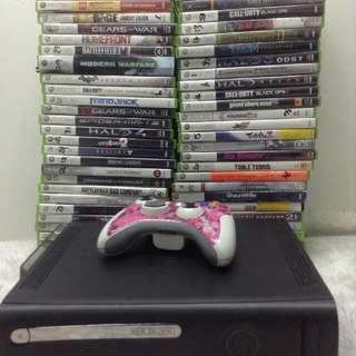 Xbox 360 Console, Controller & Xbox 360 CD BUNDLE