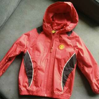 Manchester United kids windbreaker/jacket/raincoat