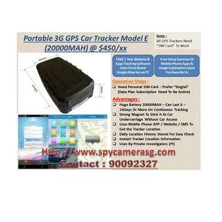 Gps Tracker 20000mah Uses By PI