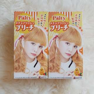 Palty blonde hair bleach