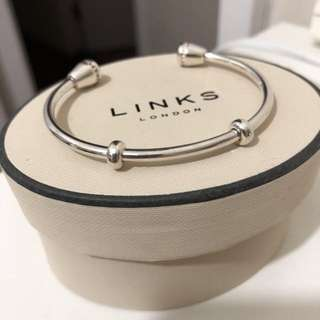 Links of London silver cuff