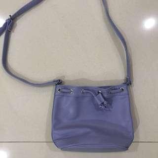 Pastel Blue Shoulder Bag