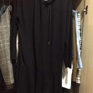 黑色百搭可愛洋裝