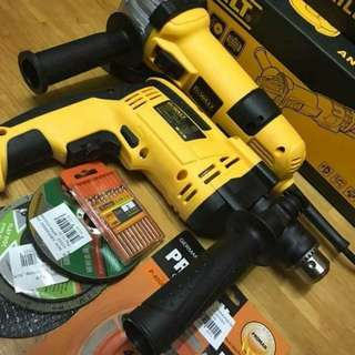 Dewalt grinder and drill