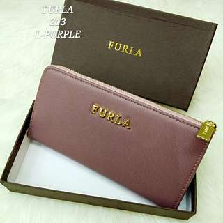 Furla Wallet Light Purple