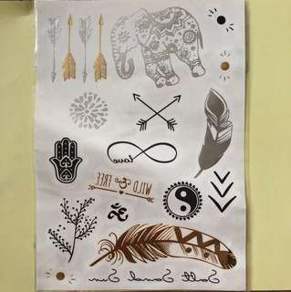 Temp tattoos