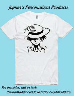 One Piece Personalized Shirts