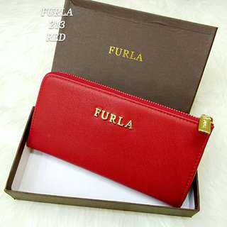 Furla Wallet Red Color