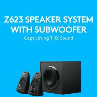 Mint Logitech z623 speakers