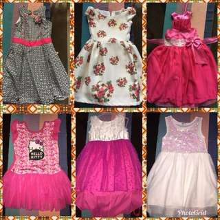 Take all 6 dresses fits 2-3 years old