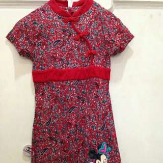 Dress Disney motif batik