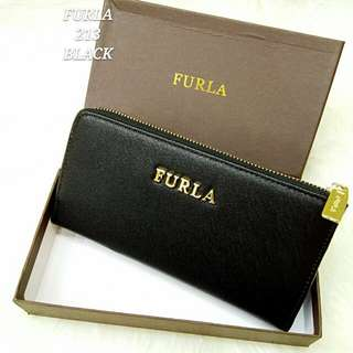 Furla Purse Black Color