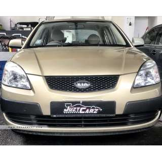 Kia Rio 1.4M For Rent $280/Week ( For Personal / Grab / Uber )