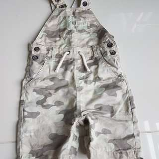 12 - 18m soldier Dungaree