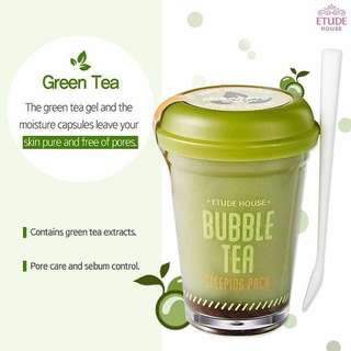 Etude House Green Tea Bubble Tea