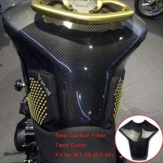 Mt09 fz09 carbon fiber tank cover