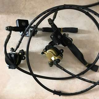 Evo front and rear brake pump