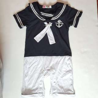 Sailor Boy Romper