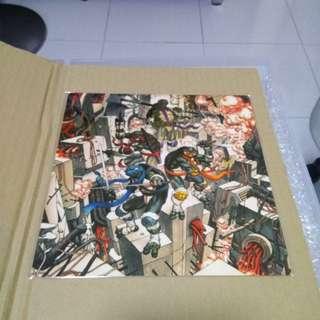James Jean 'Limited Edition Teenage Mutant Ninja Turtle Aluminium Art Print'